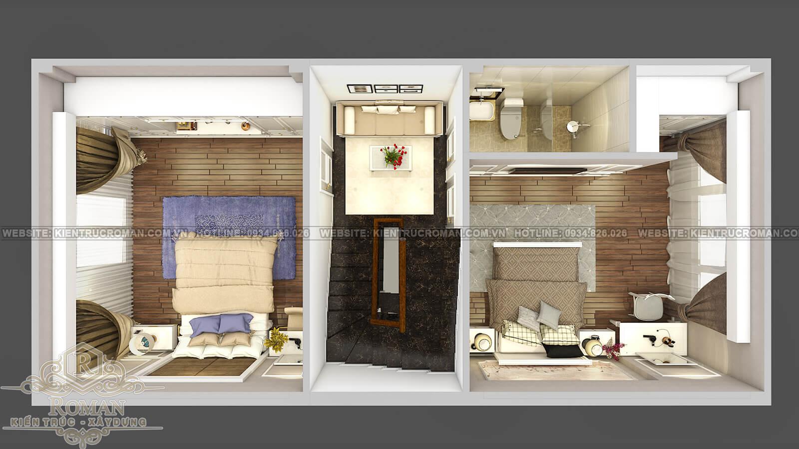 thiết kế nhà đẹp 5x15