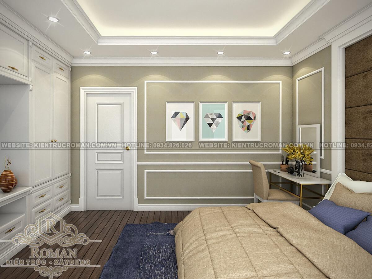 thiết kế nhà đẹp 5x15 phòng ngủ