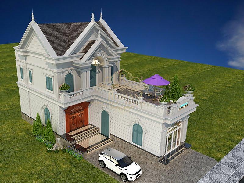 Thiết kế nhà mái thái 2 tầng đẹp ai cũng mê tại Tây Ninh