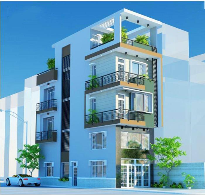 thiết kế nhà ở kết hợp văn phòng cho thuê theo xu hướng mới 6