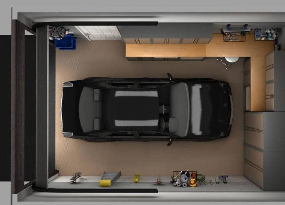 thiết kế nhà ống có chỗ để xe ô tô