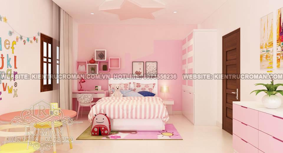 phòng ngủ thiết kế nhà phố bán cổ điển