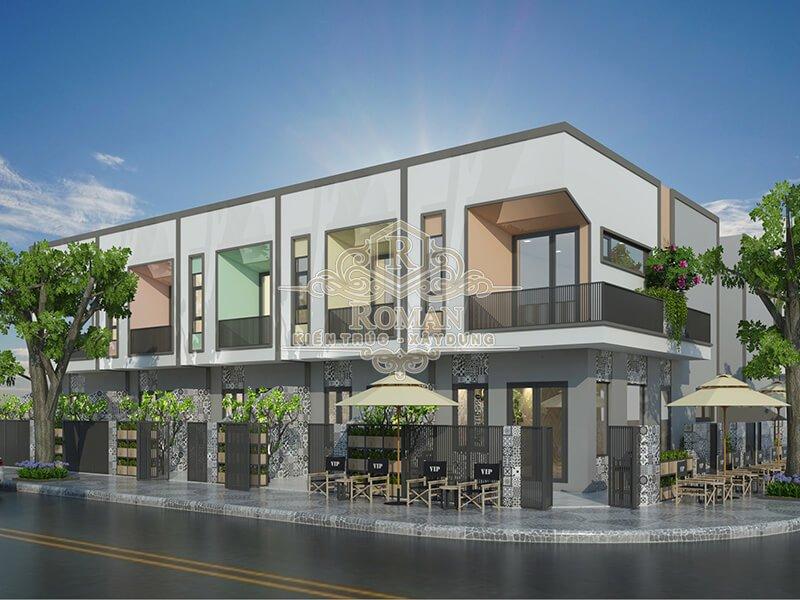 thiết kế nhà phố liền kề hiện đại phù hợp với xu hướng