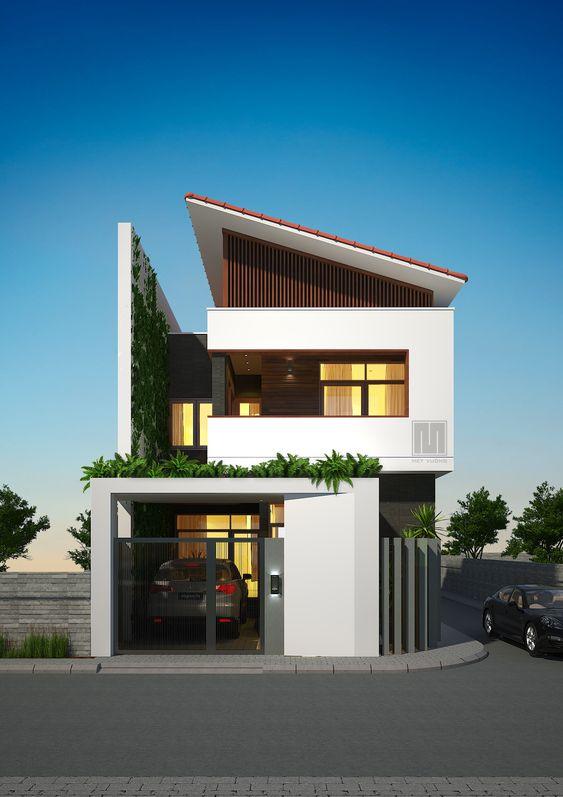 thiết kế nhà phố rộng 7m 3