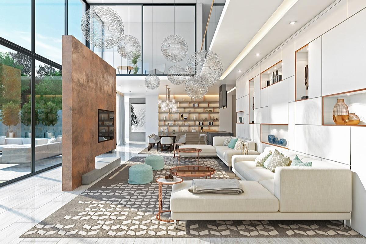 thiết kế nội thất biệt thự đẹp 1