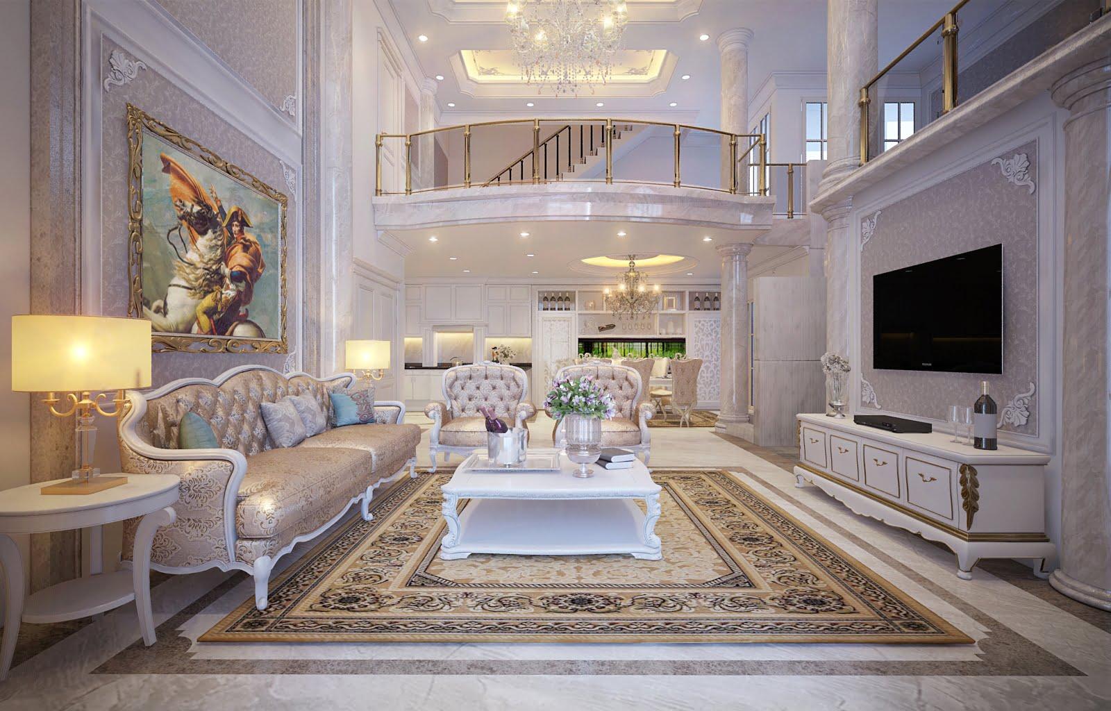 thiết kế nội thất biệt thự đẹp 3