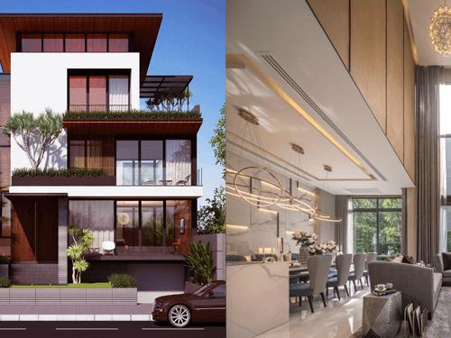 Thiết kế nội thất biệt thự hiện đại cao cấp tiện nghi