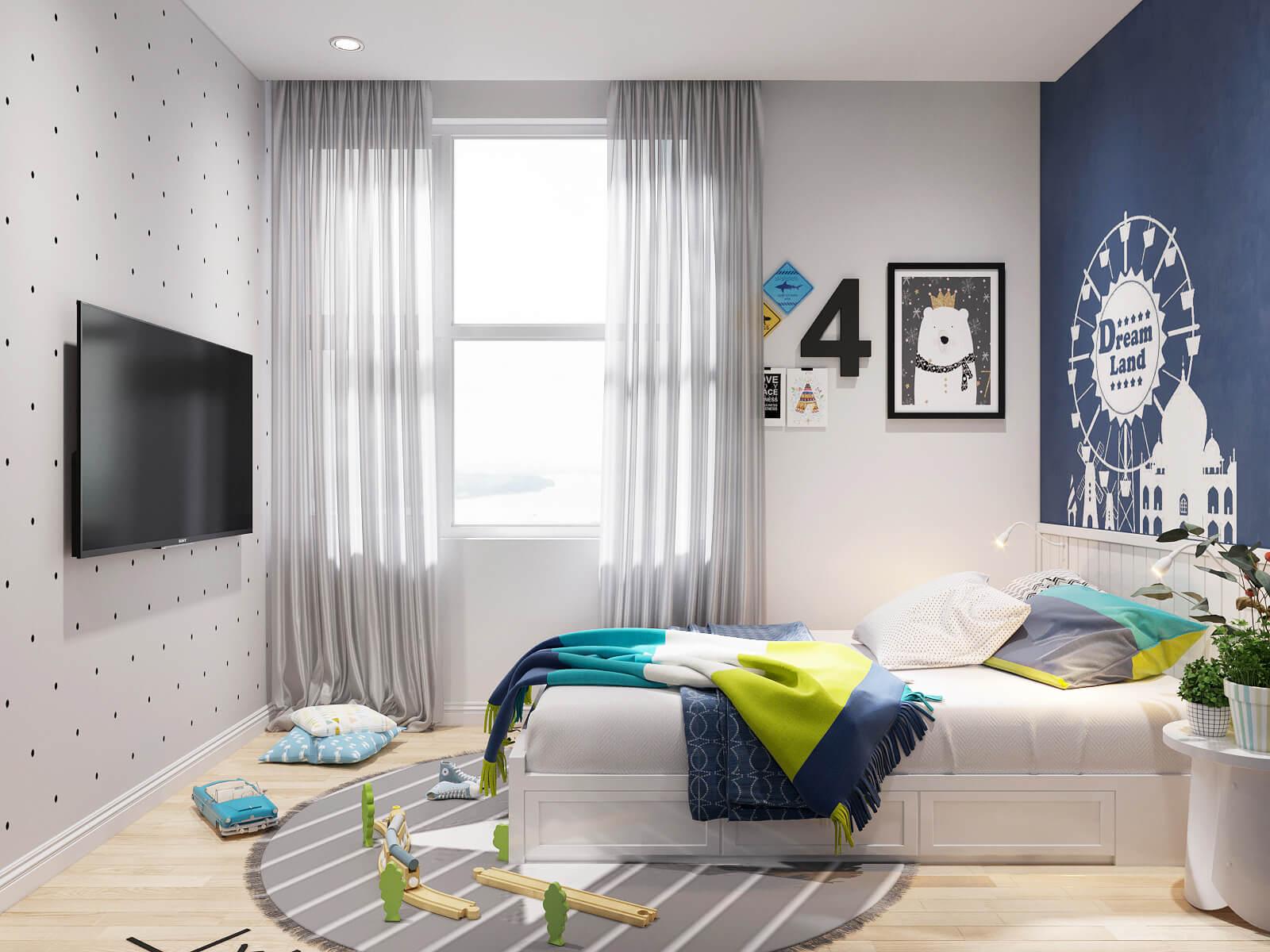 thiết kế nội thất căn hộ chung cư 70m2 10