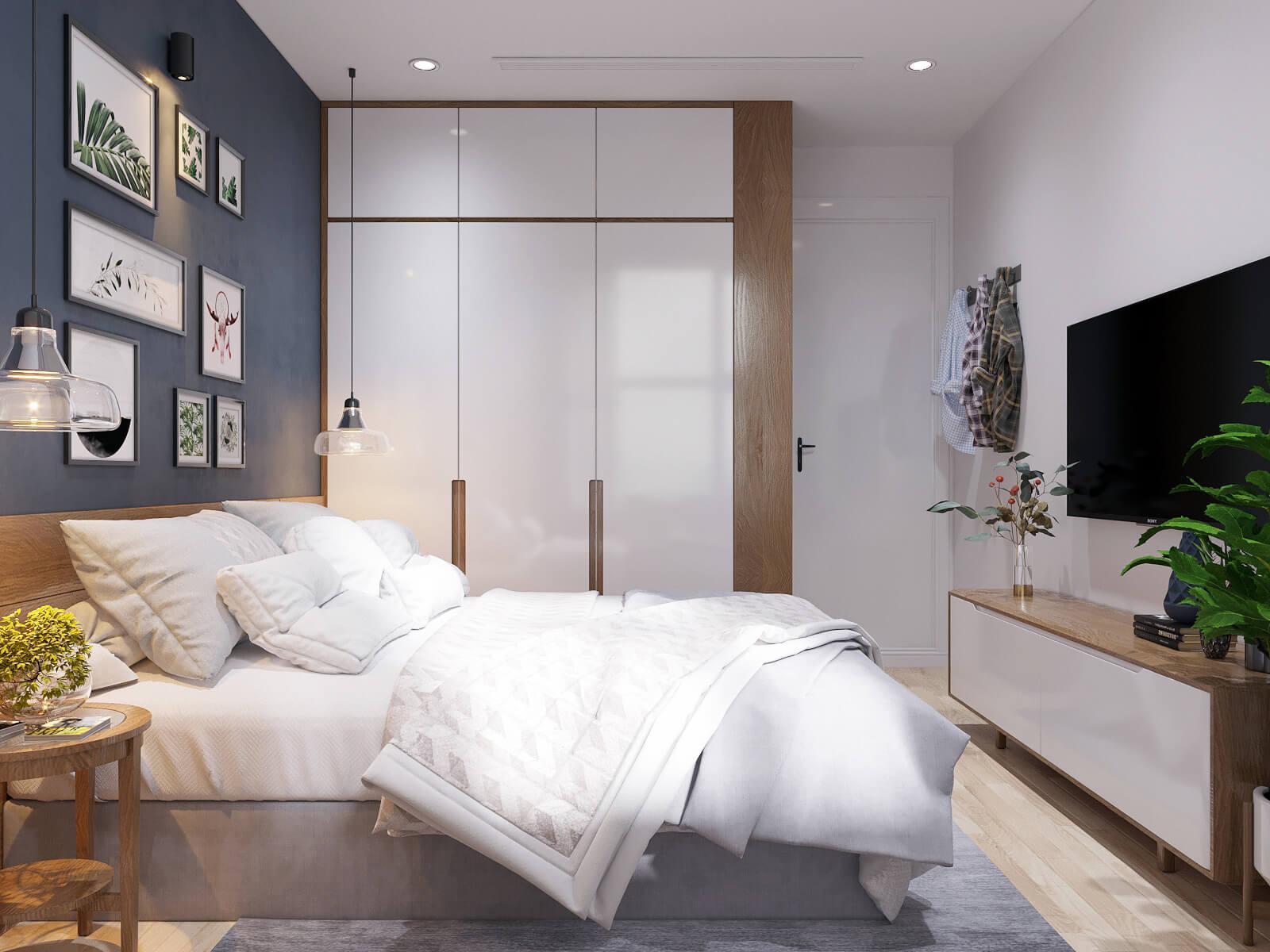thiết kế nội thất căn hộ chung cư 70m2 7