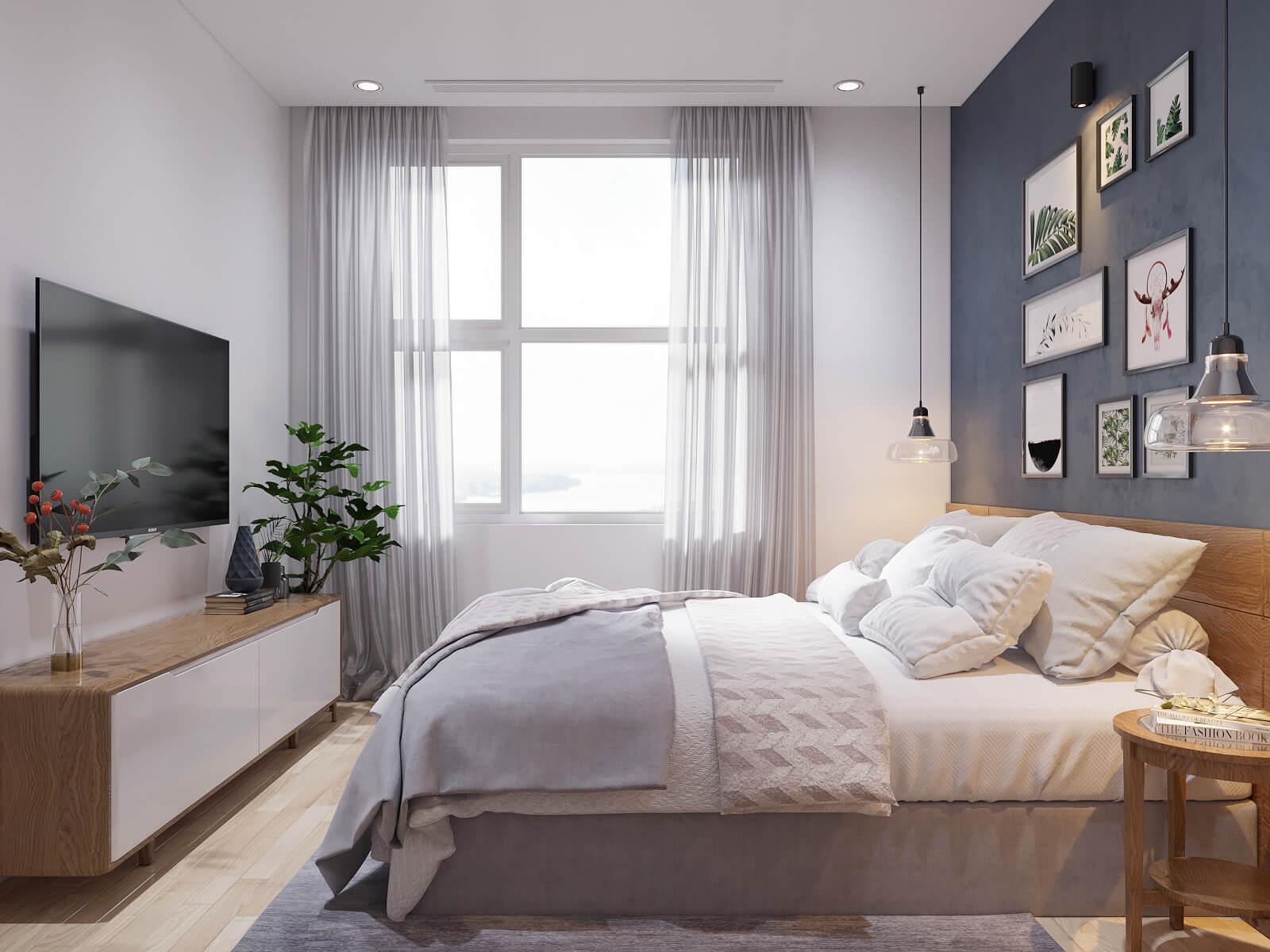 thiết kế nội thất căn hộ chung cư 70m2 8