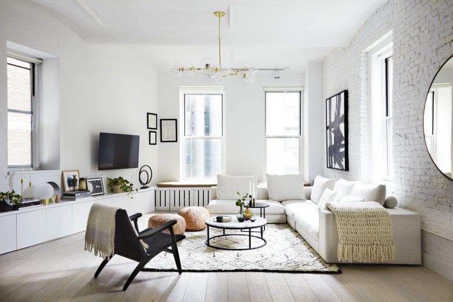 thiết kế nội thất chung cư diện tích nhỏ dưới 50m2 đẹp 2