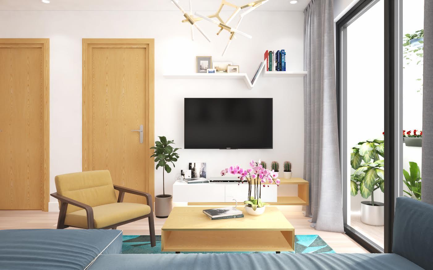thiết kế nội thất chung cư giá rẻ 13