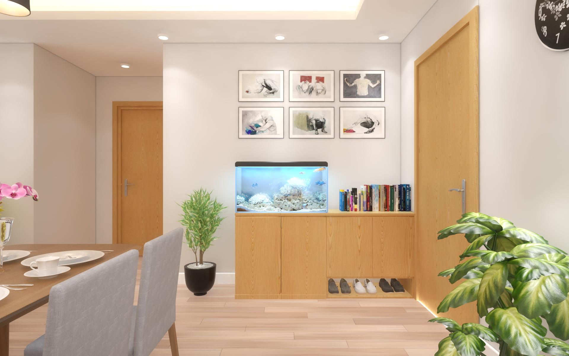 thiết kế nội thất chung cư giá rẻ 14
