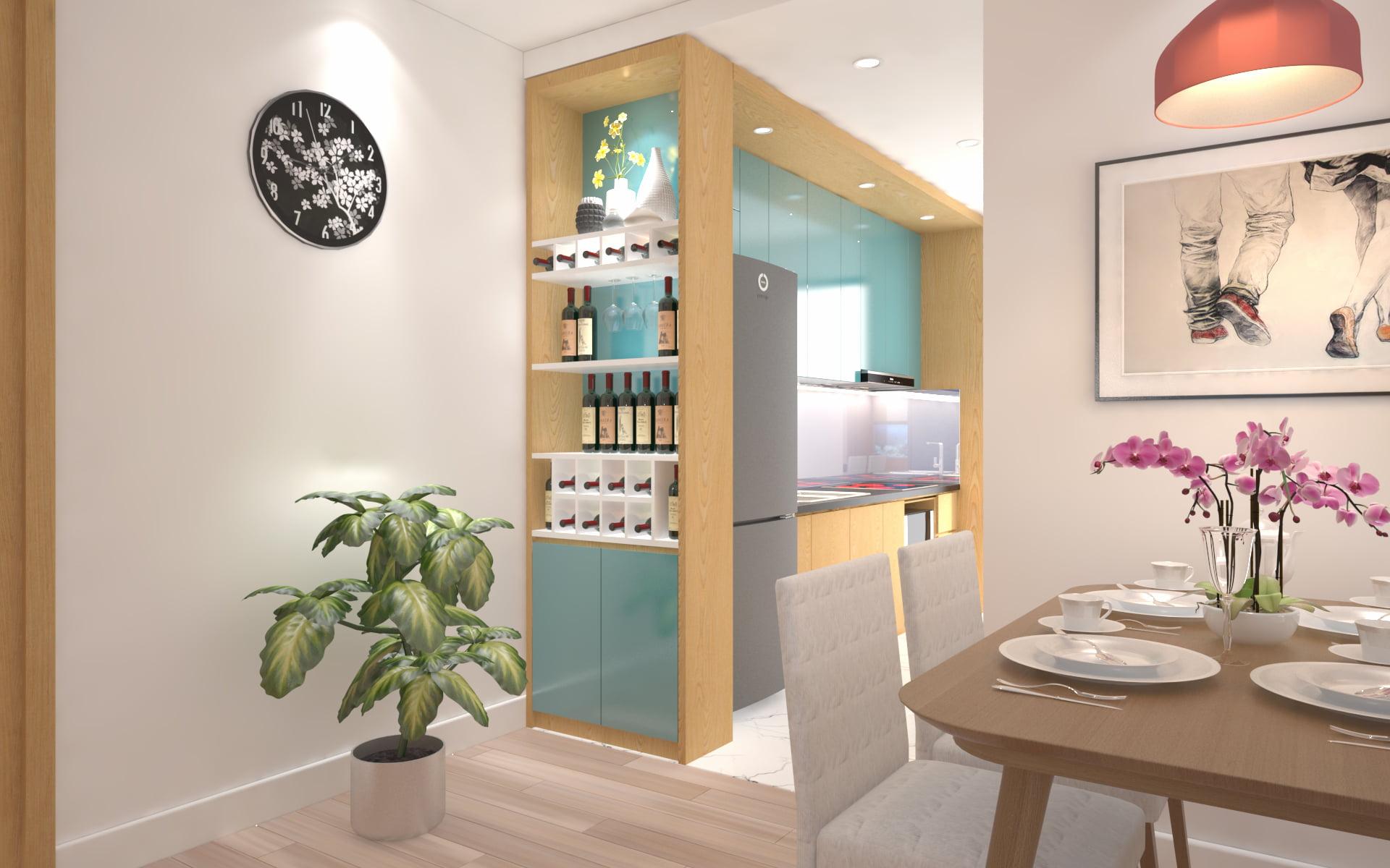 thiết kế nội thất chung cư giá rẻ 15