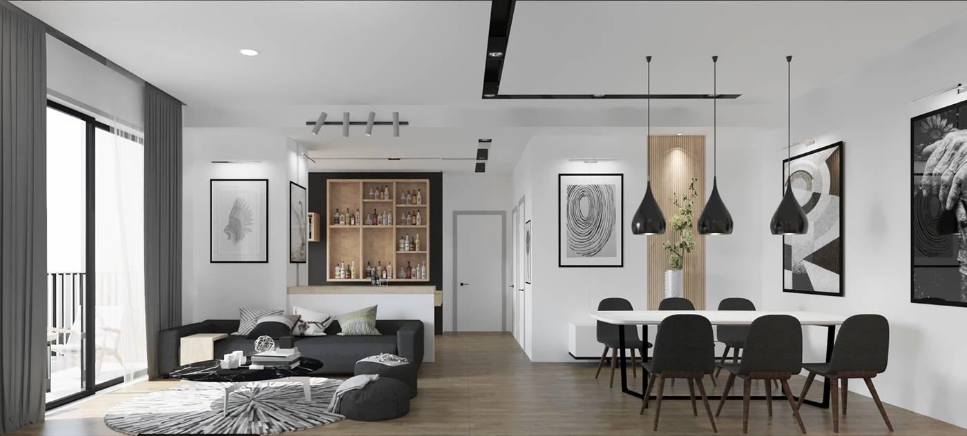 thiết kế nội thất chung cư giá rẻ 26
