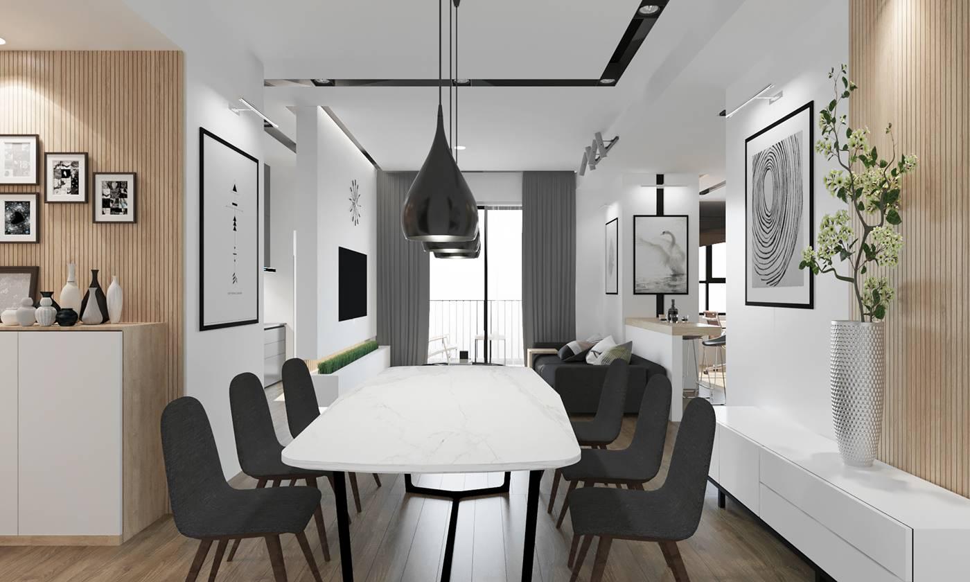 thiết kế nội thất chung cư giá rẻ 27
