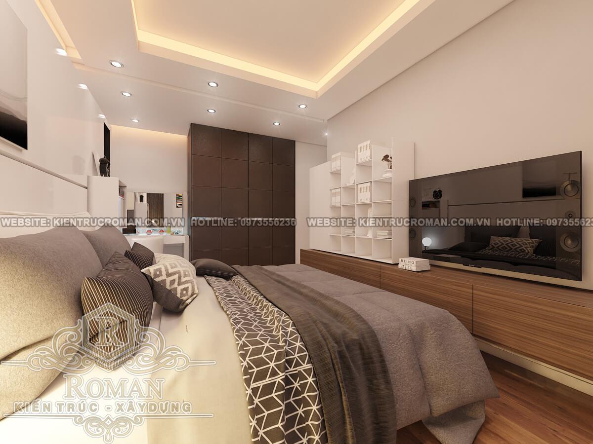 phòng ngủ thiết kế nội thất chung cư hiện đại