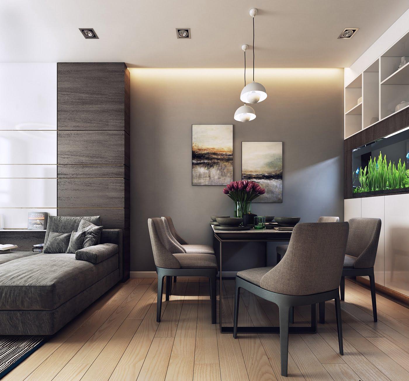 thiết kế nội thất chung cư hiện đại 17