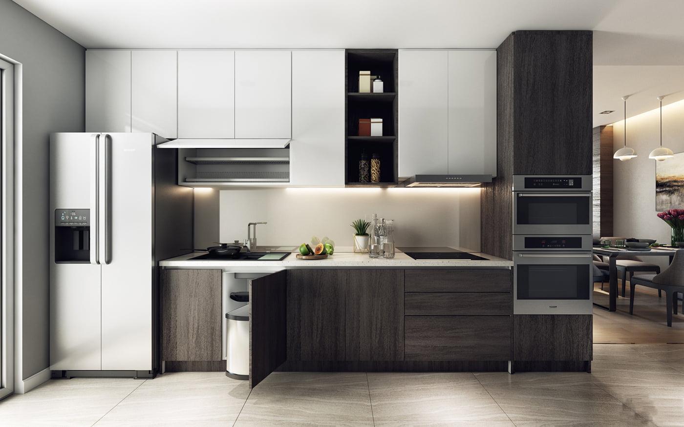 thiết kế nội thất chung cư hiện đại 18