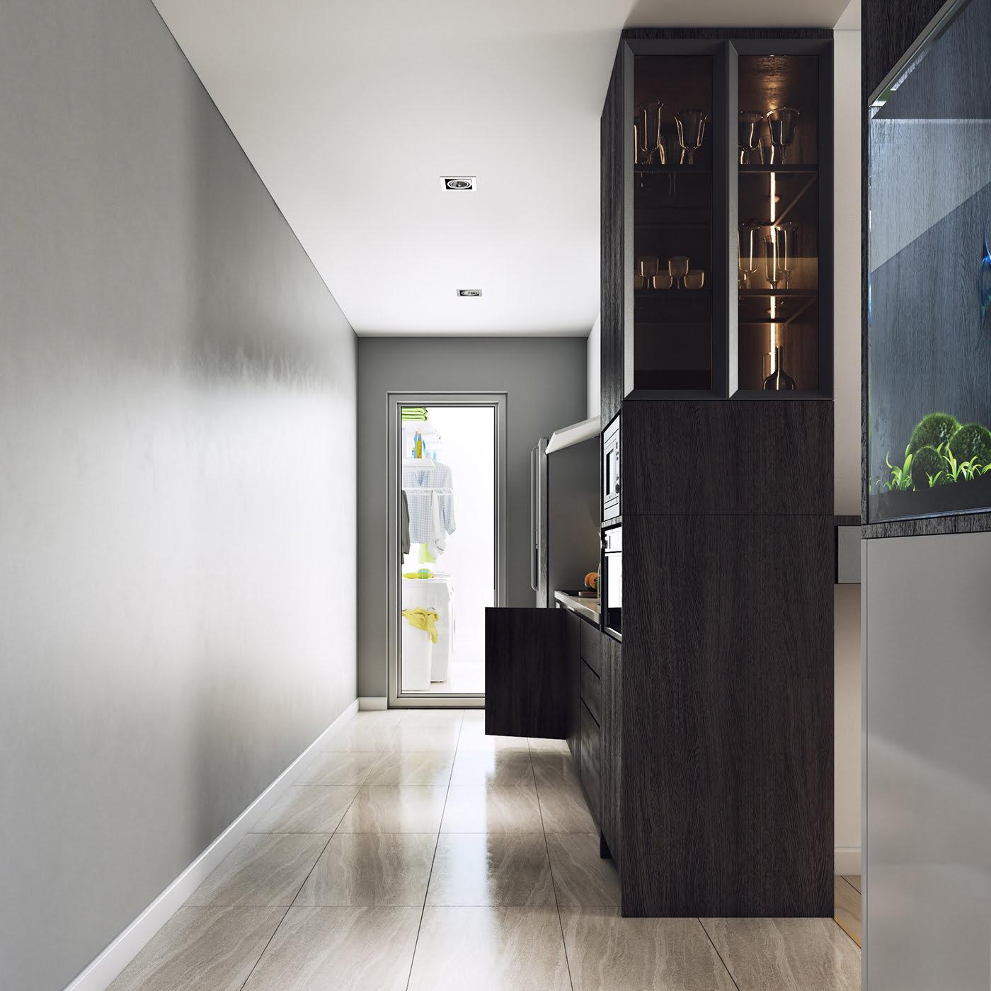 thiết kế nội thất chung cư hiện đại 19