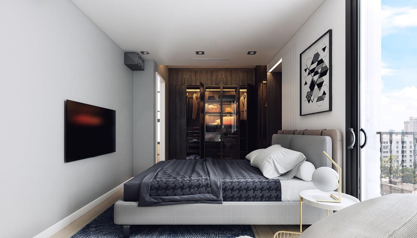 thiết kế nội thất chung cư hiện đại 21