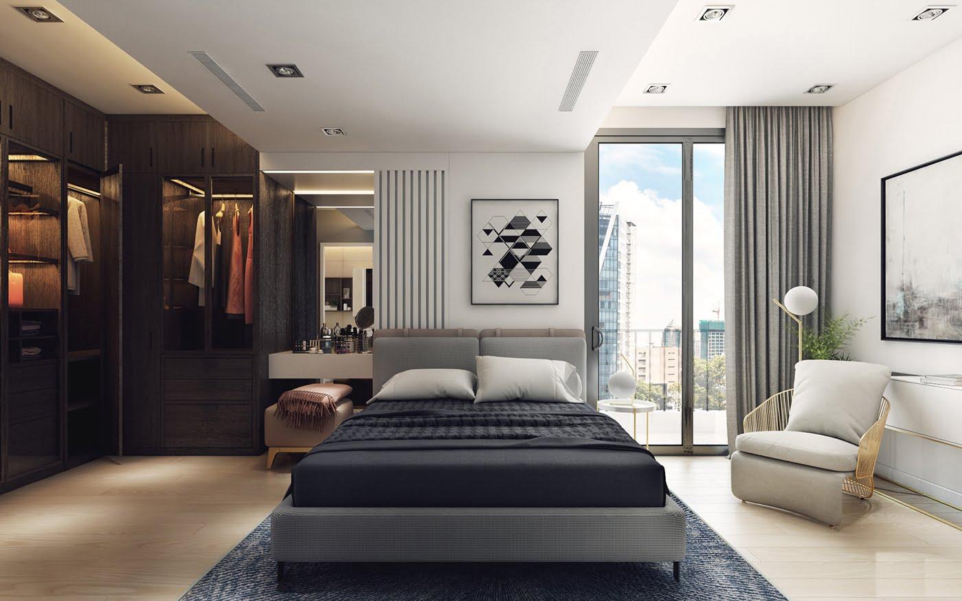thiết kế nội thất chung cư hiện đại 23