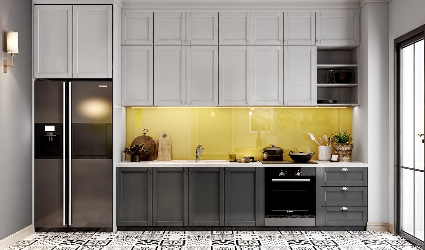 thiết kế nội thất chung cư hiện đại 6