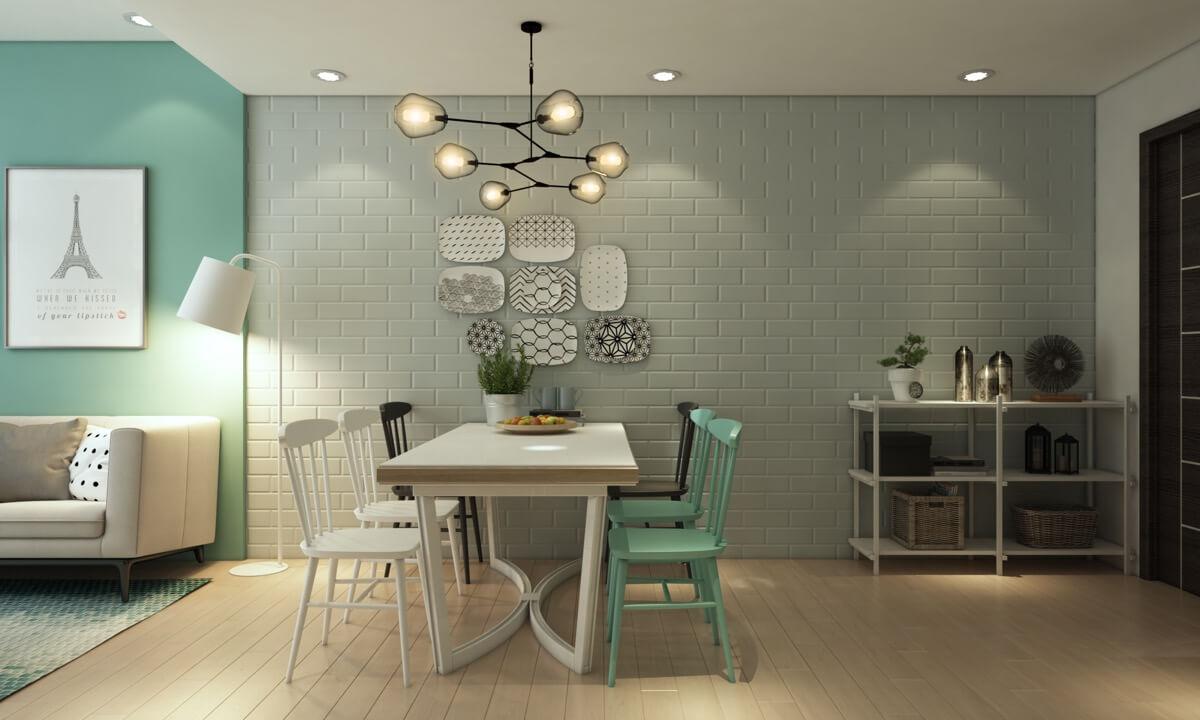 thiết kế nội thất chung cư nhỏ 50m2 14