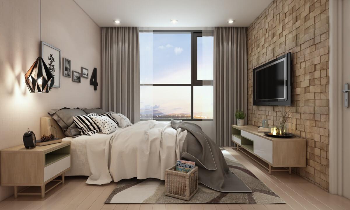 thiết kế nội thất chung cư nhỏ 50m2 16