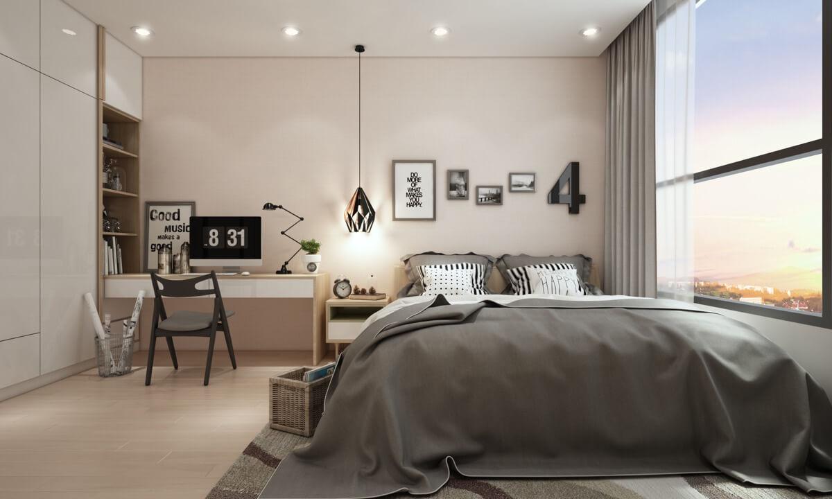 thiết kế nội thất chung cư nhỏ 50m2 17