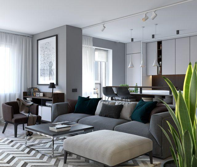 thiết kế nội thất chung cư nhỏ 60m2 19