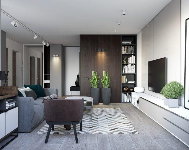 thiết kế nội thất chung cư nhỏ 60m2 20
