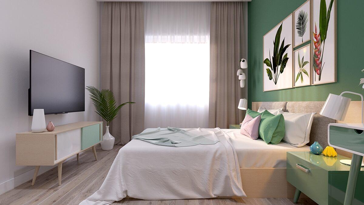 thiết kế nội thất chung cư nhỏ 40m2 9