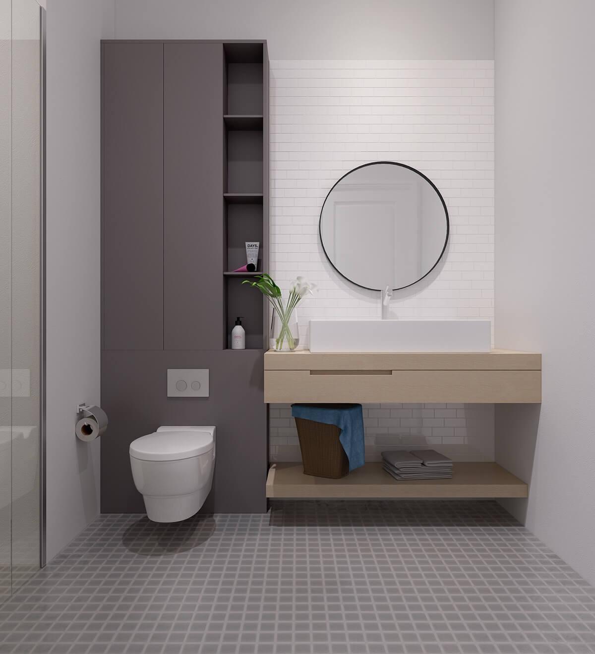 thiết kế nội thất chung cư nhỏ 40m2 10