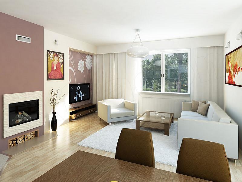 thiết kế nội thất mẫu nhà 1 tầng đơn giản 1