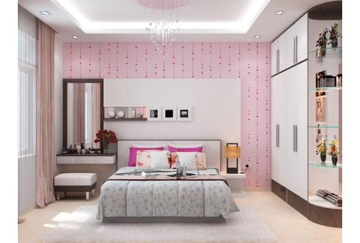 phòng ngủ mẫu nhà 1 trệt 1 lầu 5x15