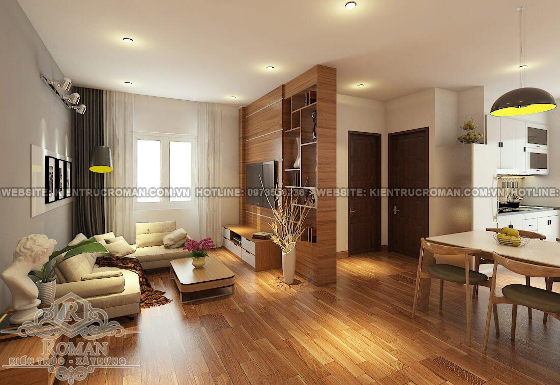 báo giá thiết kế nội thất chung cư 16