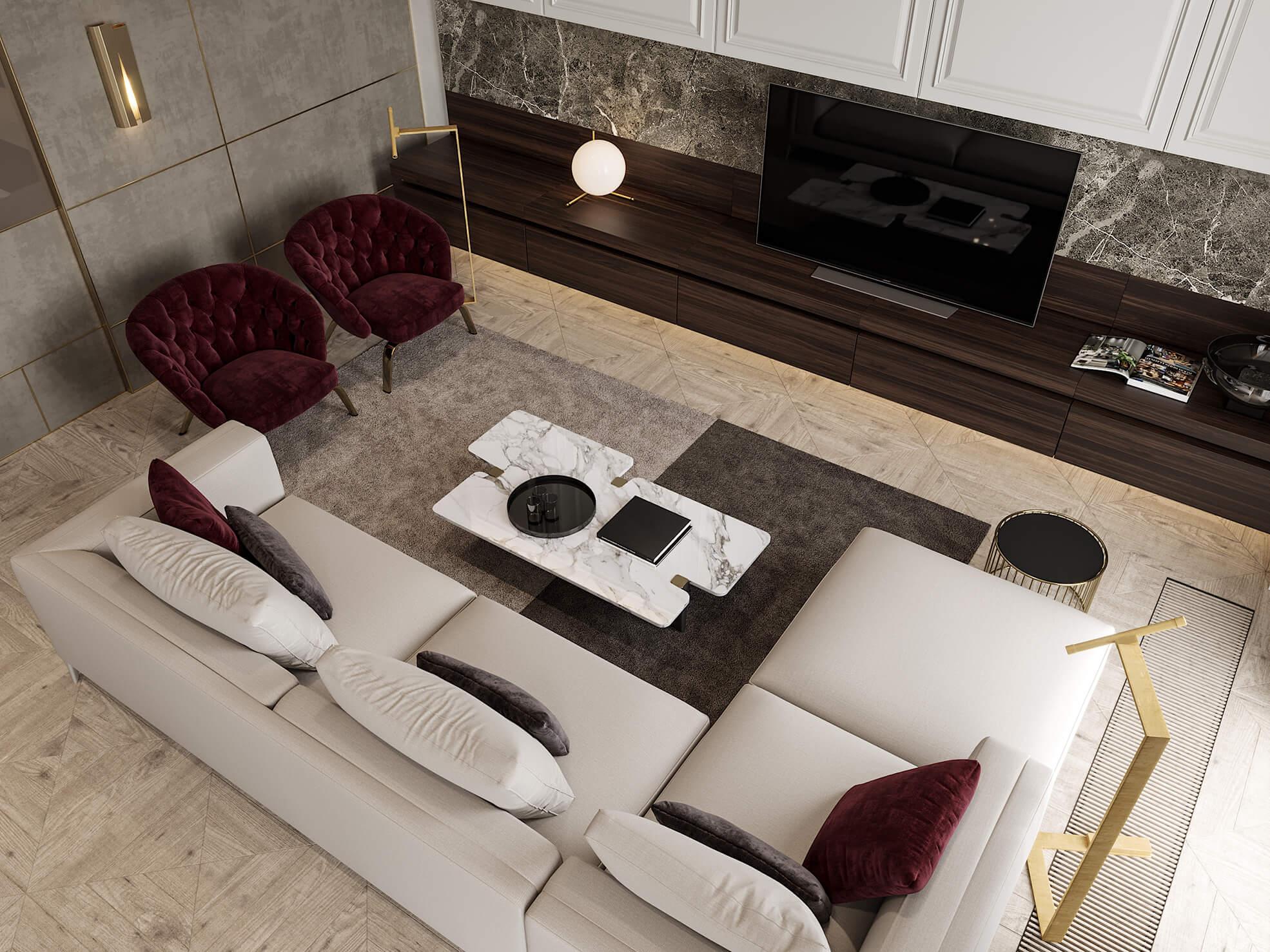 phong cách thiết kế nội thất nhà chung cư đẹp nhất hiện nay 8