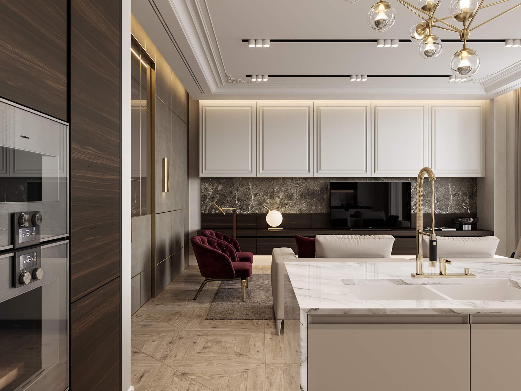 phong cách thiết kế nội thất nhà chung cư đẹp nhất hiện nay 12