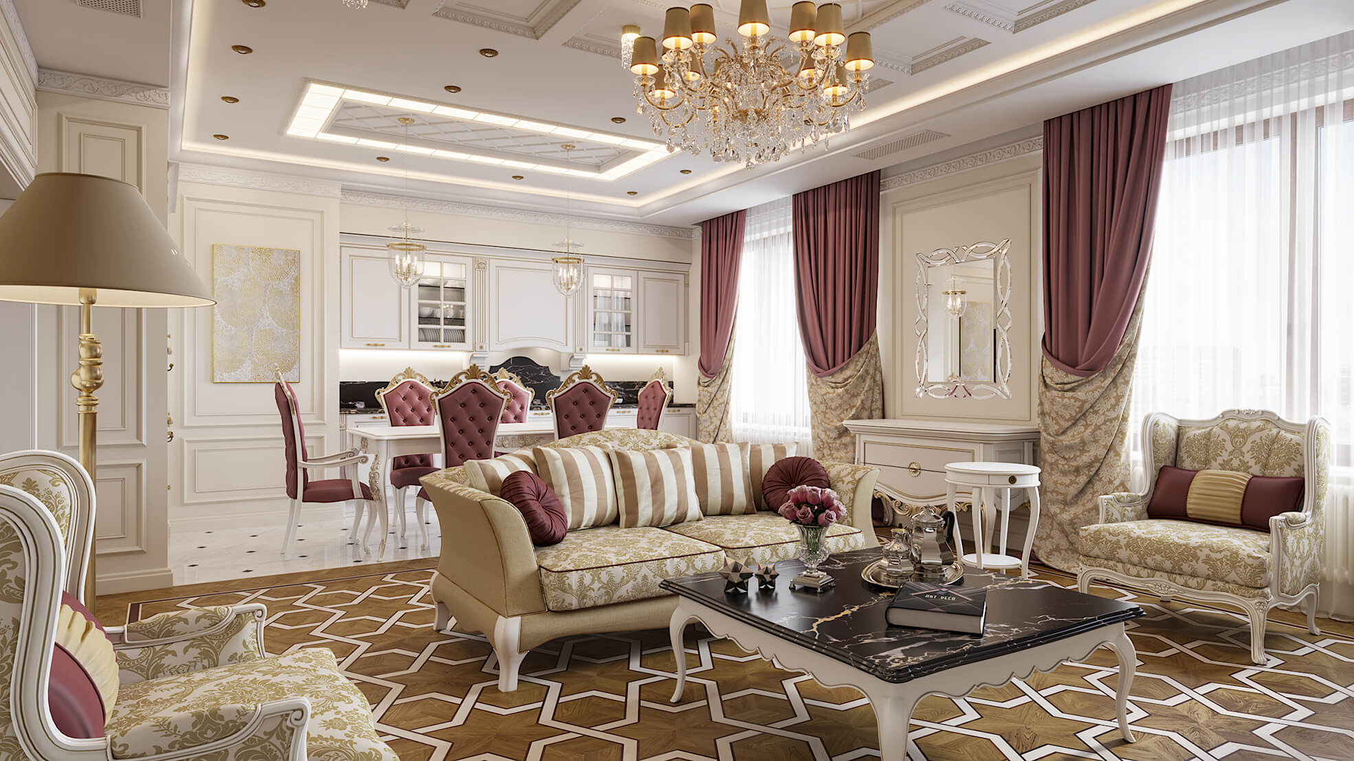 phong cách thiết kế nội thất nhà chung cư đẹp nhất hiện nay 22