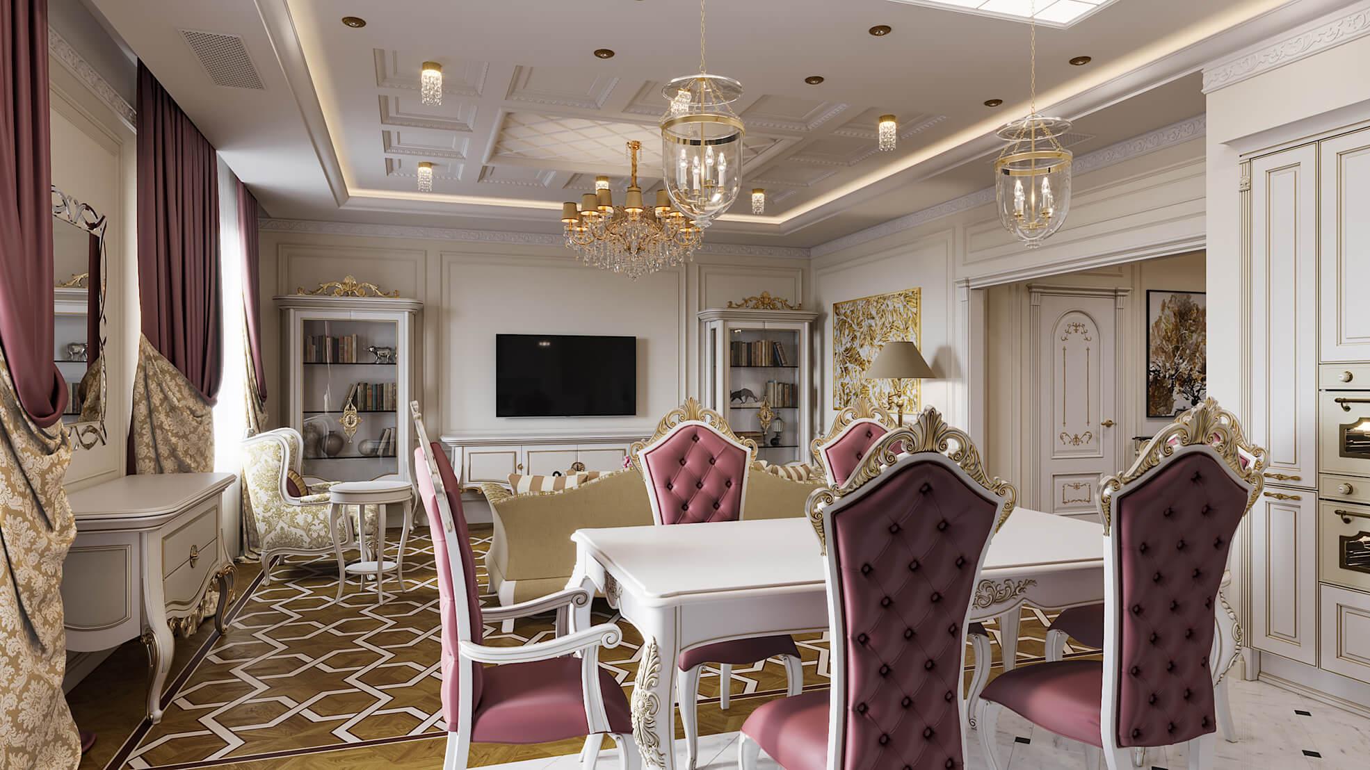 phong cách thiết kế nội thất nhà chung cư đẹp nhất hiện nay 25