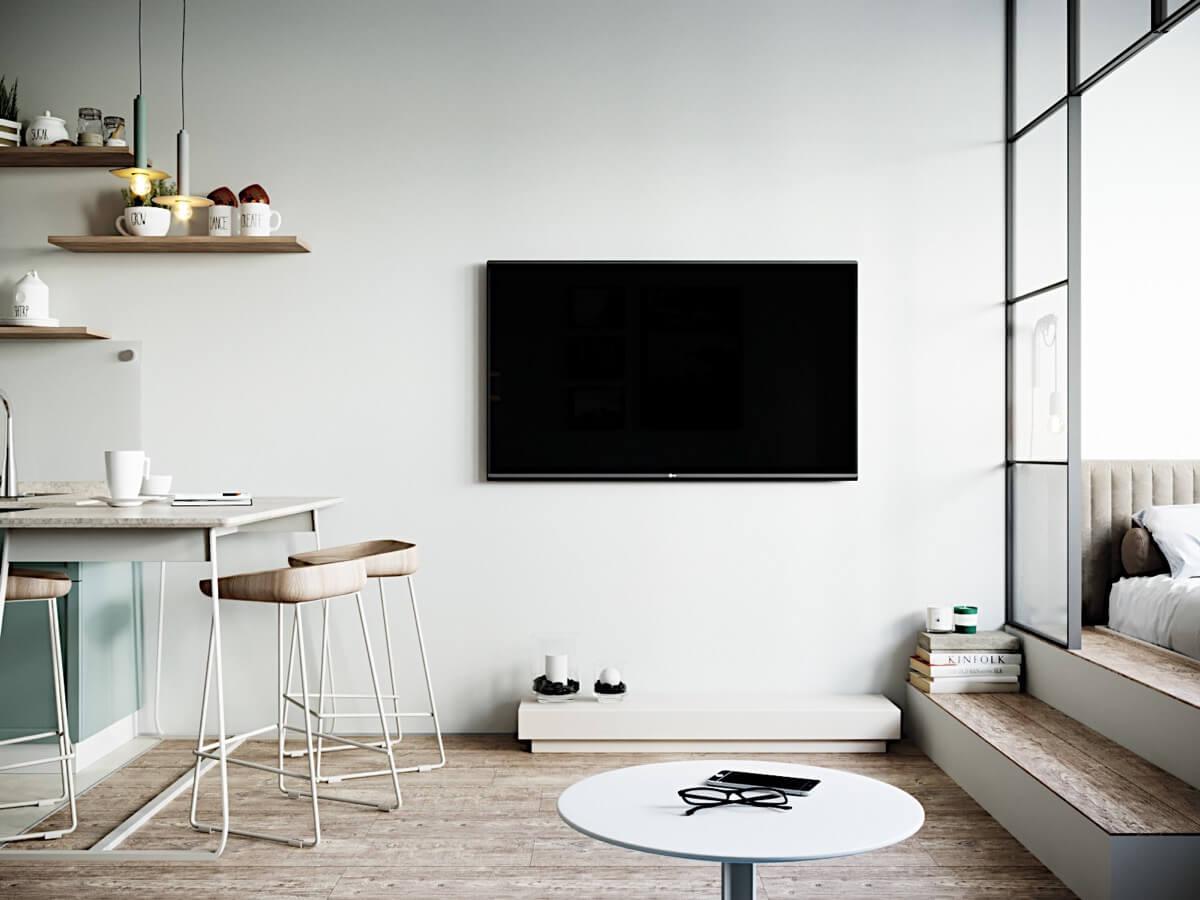 phong cách thiết kế nội thất nhà chung cư đẹp nhất hiện nay 4