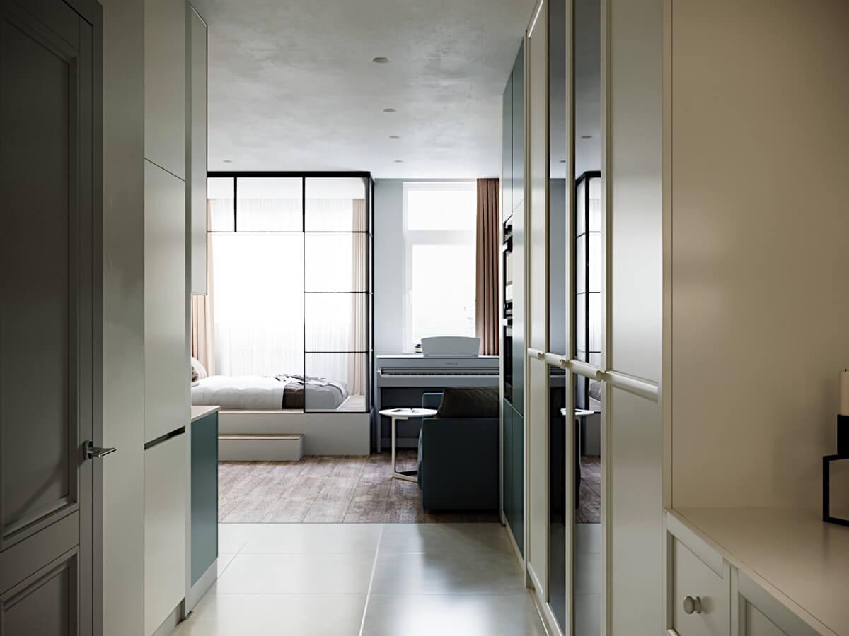 phong cách thiết kế nội thất nhà chung cư đẹp nhất hiện nay 7