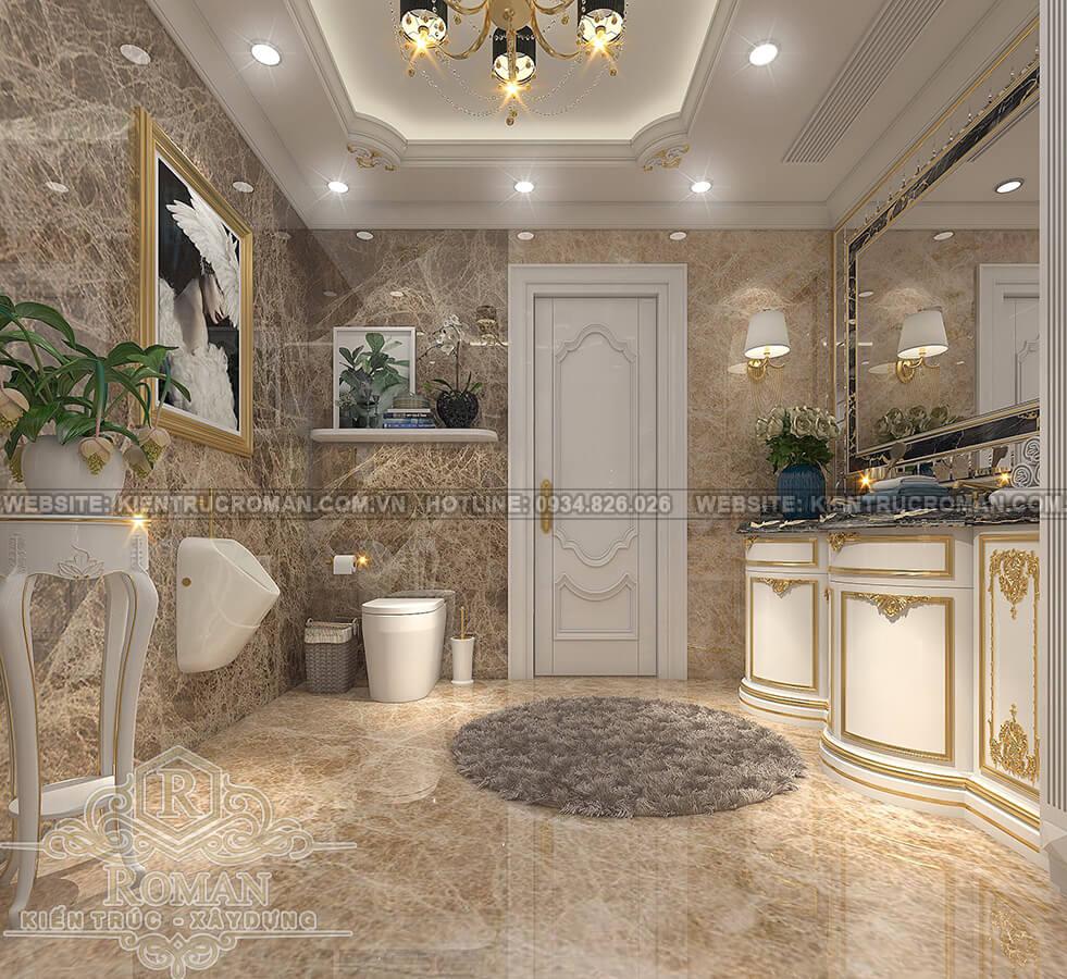 thiết kế penthouses 2 tầng đẹp phòng ngủ master