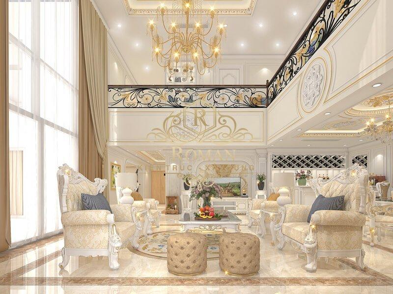 thiết kế penthouses 2 tầng đẹp