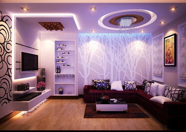 thiết kế phòng karaoke gia đình 4