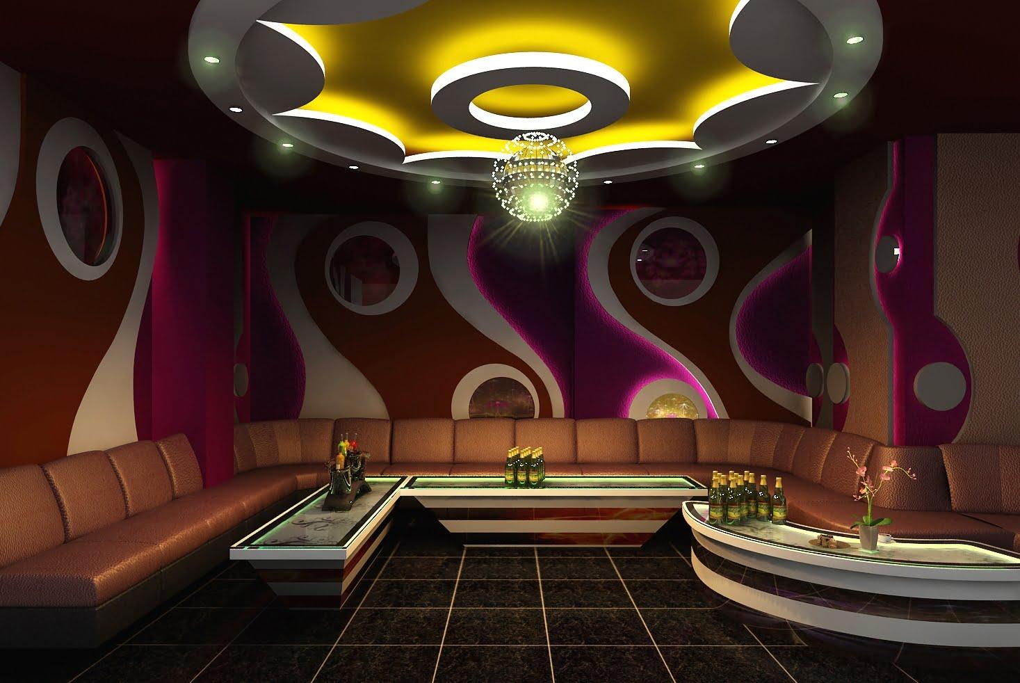 thiết kế phòng karaoke phong cách hiện đại 1