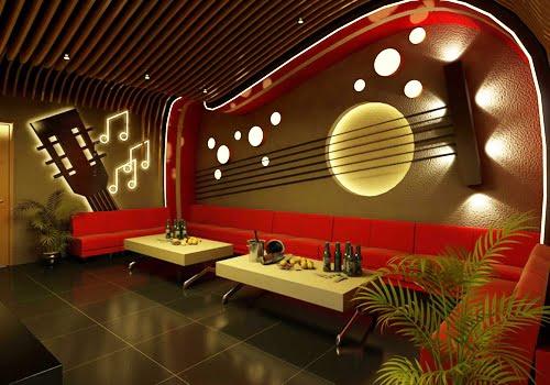 thiết kế phòng karaoke phong cách hiện đại 3
