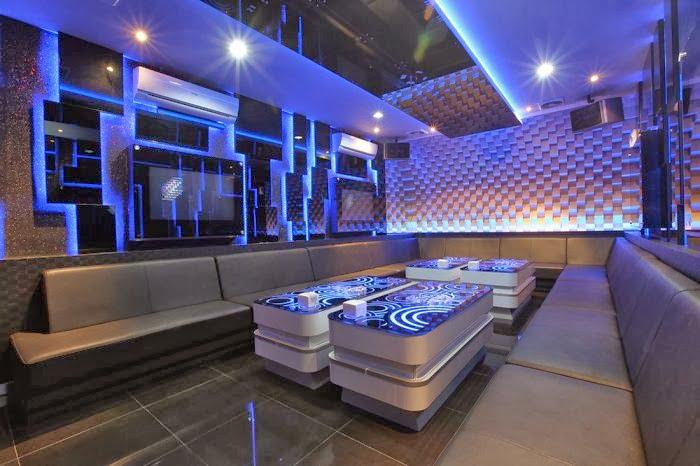 thiết kế phòng karaoke phong cách hiện đại 4