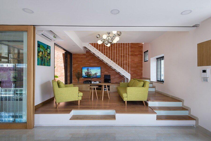 thiết kế phòng khách 20m2 đẹp
